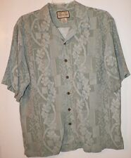 Jamaica Jaxx Hawaiian Shirt 100%silk  L  very nice condition