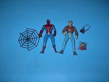 TOYBIZ MARVEL SPIDERMAN ANIMATED SERIES PETER PARKER & SPIDER-MAN 1994