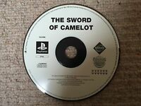 The Sword Of Camelot - Sony Playstation PS1 DISK ONLY UK PAL