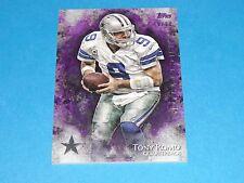 2014 Inception TONY ROMO #93 Purple Variant/99 Dallas COWBOYS Eastern Illinois