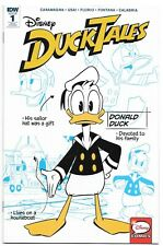 Near Mint Disney DUCKTALES #1 (1:10) Blueprint Variant Donald Duck NM IDW