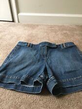 Ann Taylor Loft Womens Blue Denim Jean Shorts Sz 12 Clothes