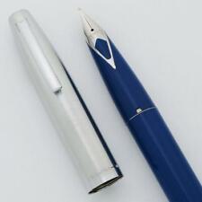 Sheaffer 440 Fountain Pen - Lt Blue, Fine Short Diamond Nib (New Old Stock)