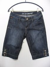 "edc by Esprit Jeans - Shorts ""DENIM"" in Blau, kurze Jeans, Gr. W26 TOP"