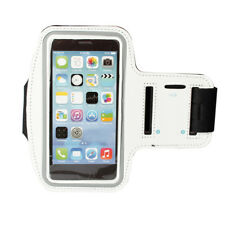 """Newest Sports Running Jogging Gym Armband Case for 5.5"""" iPhone 6s 6 plus White"""