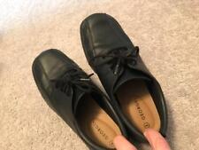 Boys Black Dress Shoes - Size 5 - George Brand!   Excellent Condition!!