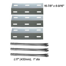 Ducane Gas Barbecue Grill 30400040 Replacement Burners & Heat Plates