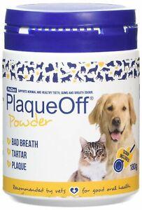 PlaqueOff Animal 180g Tartar & Plaque aus Entfernung Hund Katze