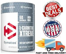 L-CARNITINE 500 MG 60 CAPSULES Provides Energy Increase Fat Metabolism Focus NEW