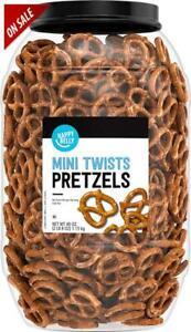 Super Tasty Snack Mini Twist Pretzels, 40oz