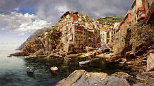 Sunday Afternoon   - Clark Hulings  - Limited Edition PRINT