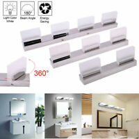 Modern Bathroom LED Crystal Mirror Front Make-up Wall Light Toilet Vanity Lamp