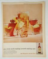 Vintage Seagram's 7 Seven Crown Whiskey Print Ad 1959 Look Magazine Advertising