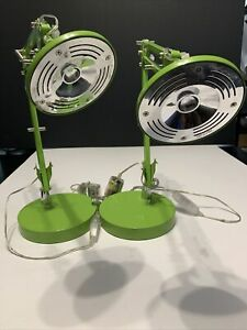 Hwa Feng Lime Green  Desk Lamp LED Lighting One Is Brighter Throwing Dimmer In
