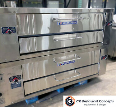 Used BAKERS PRIDE  Y600 Double stack Pizza Deck  Natural Gas Or Propane