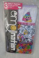 Girl Emoji Design 3 Briefs Panties Size 6 New Cute