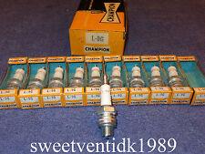 NOS Champion L-9G Spark Plugs...'Gold Palladium'...Vespa, BSA, Ducati, Carabela