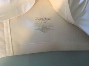 CATHERINES Intimates Bra—-Ivory—SZ. 50C— NWOT