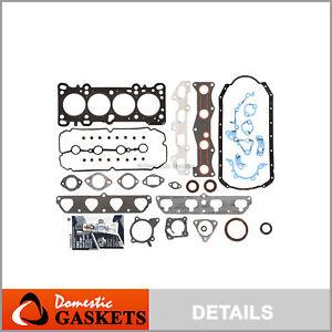 Fits 03-05 Kia Rio 1.6L DOHC 16-Valves Full Gasket Set A6D
