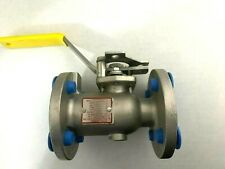 "1"" Apollo 87A-205-01 316Ss Stainless Full Port Cl150 Ball Valve Rptfe Seats New"
