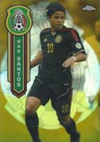 2014 Topps Chrome Major League Soccer Mexican National Team Gold Parallel /50