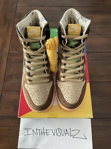 Nike SB Dunk High Concepts Turdunken Size 9 Cncpts 100% Authentic! Fast Shipping
