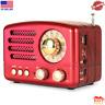 M-160BT Retro Bluetooth Speaker Portable AM/FM/Shortwave Rechargeable Radio, ...