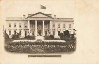 Postcard Front View White House Washington DC