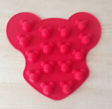 Mini Mickey Mouse Head Mould Silicone Mold Cake Mold Chocolate Mould Polymer