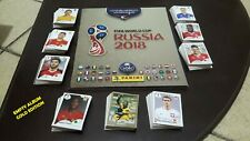 WORLD CUP 2018! 2 EMPTY ALBUMS HARD / GOLD + COMPLETE SET + UPDATE + 100 PACKS