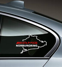 AMG NURBURGRING Mercedes Benz C55 CLK E55 CLS63 E63 Decal sticker emblem logo