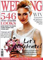 WEDDING Magazine Oct/Nov 2013 NEW SEASON LOOKS Trend-Setter or Eco-Cool? @NEW@