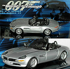 BMW Z8 Roadster 2000-03 argent métal argenté 1:43 Minichamps 007 Collection