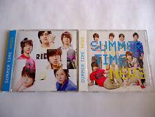NEWS Summer Time JAPAN CD Single x 2 version w/OBI 2008 Tomohisa Yamapi Tegomass