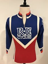 VTG Santini R+E Cycles Specialized Cycling Jersey Long Sleeve Italy Size 2 Small
