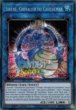 Yu-Gi-Oh! Sirène, Chevalier du Cauchemar - MP19-FR025 - Prismatic Secret Rare -