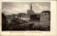 Strassburg Strasbourg Elsass Alsace CPA ~1900 Quai des Pecheurs Fischer Kai