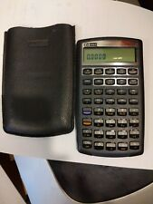 Hp 10bIi Financial Calculator 10 B Ii + Case