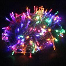 PMS CATENA LUCI A LED LUMINOSO NATALIZIA 600 LEDs 62M LUCE LUCCIOLE CON (o6j)