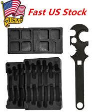 Lower & Upper Vise Block & Wrench Tool Kit For AR15 Gunsmith Armorer's US Stock