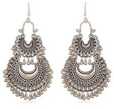 Jwellmart Indian Oxidized Afghani Gypsy Bohemian Fashion Earrings Free Shipping