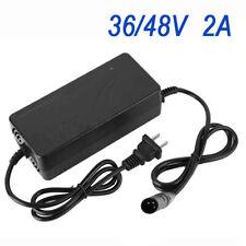 36/48V 2A Batterie Lithium Smart Chargeur Prise for Électrique Vélo Vélo LI-ION