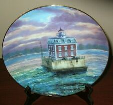 """""""Guiding Light"""" Guardians Of The Coasts by Rudi Reichardt Lighthouse Plate"""