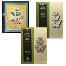 New listing Butterfly Die Cuts Devyn Outline & Emelia Poppystamps Cutting Dies - Bundle