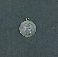 Antique Silver Love Token Engraved Initials FSW FWS SWF SFW WSF WFS 1877 Dime