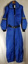 Vintage JC PENNY SNOWMOBILE APPAREL SNOWSUIT FULL ZIP WOMEN'S Medium 12-14 A1329