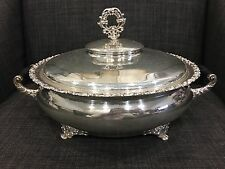 Rockford Silver Company Quadruple Casserole Dish With Lid 2406