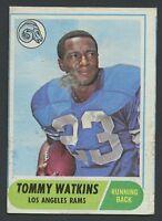 1968 Topps  #182 Tom Watkins GVG C000015397