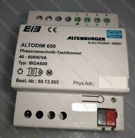 NEW Altenburger ALTODIM IBDA600 Best -Nr 80.13.065  KNX/EIB Dimmaktor