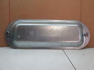 "Appleton K250-300 2-1/2"" and 3"" Form 35 Unilet Steel Domed Conduit Body Cover"